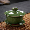 New Coming Kung Fu Tea Set Tureen Purple Glaze Tureen Binglie Gaiwan Binglie Tea Set Capacity About 110ml