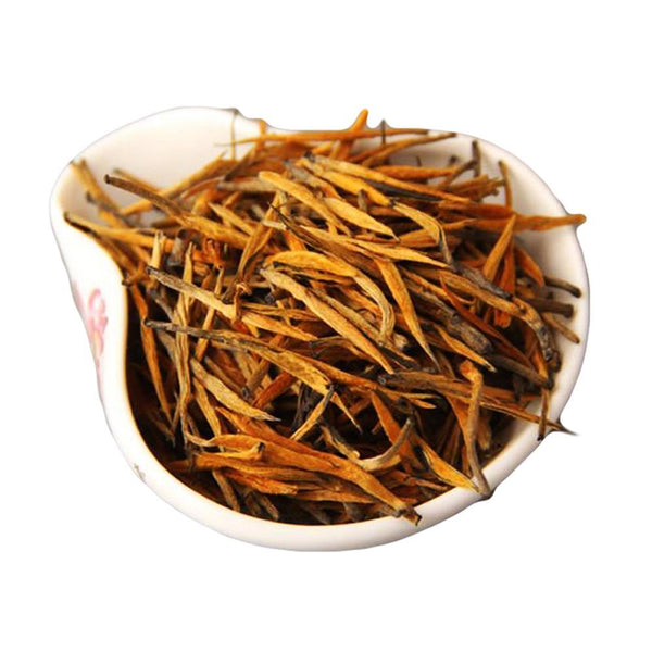 Qianshan Leaves The Climax Tree Gold Bud Black Tea Fermented Tea 100g-Moylor