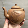 Retro Chinese Style Handmade Purple Clay Yixing Teapot