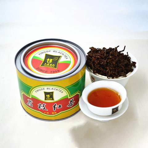 Since 1959 Authentic Guangdong Specialty Yingde Black Tea British Red Nine Natural Tea 50g-Moylor