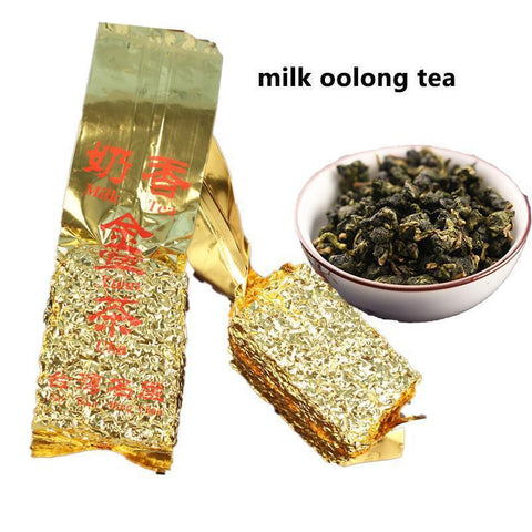 Taiwan High Mountain Milk Oolong Tea 250g Honey Sweet Organic Natrual Green Food Health Care Chinese Top Grade Tea Vacuum Pack-Moylor