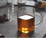 Tea Sub-Sea Heat-resistant Glass Handmade KungFu Tea Set 200ml-260ml