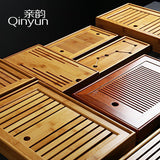 Tea Water Storage Water Table Trumpet Kung Fu Tea Small Bamboo Tea Tray