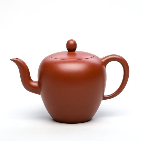 "Yixing Handmade ""Beauty Shoulder"" Kungfu Tea Set Purple Clay 270 ml Teapot-Moylor"