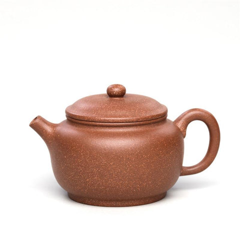 Yixing Handmade Retro Kungfu Tea Set Purple Clay 255 ml Tea Pot-Moylor