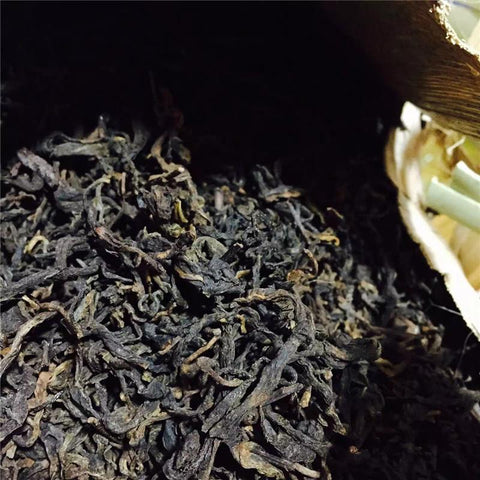 Yongdechang Loose Puerh Tea 100g/bags Ripe Loose Tea 2008year Sweet Water Puerh Tea-Moylor