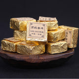 Yunnan Pu'er ripe tea tree top collection 2003yr Mini Tuo small brick cubes tea 20pcs