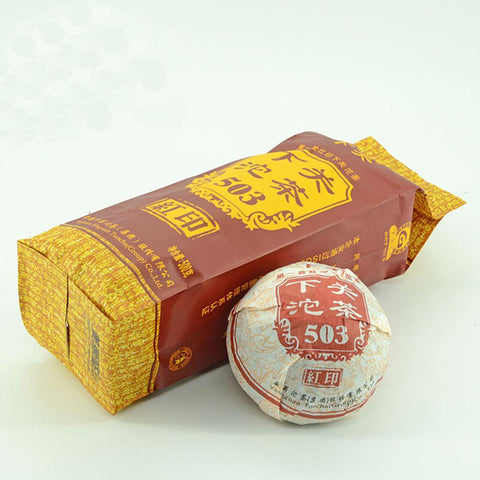 Yunnan Puer Shimonoseki Tuo 2015 Red Seal 503 Casual Wear Single 100g-Moylor