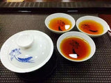 Yunnan Puer Tea 2001yr Old Cooked Cake Gold Bud Chen Fragrant Red Print Tea-Moylor