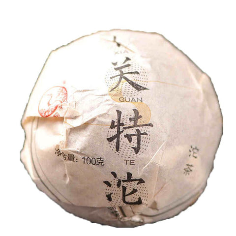Yunnan Puer Tea In 2016 XiaGuan Casual Tuocha 100g Raw Tea-Moylor