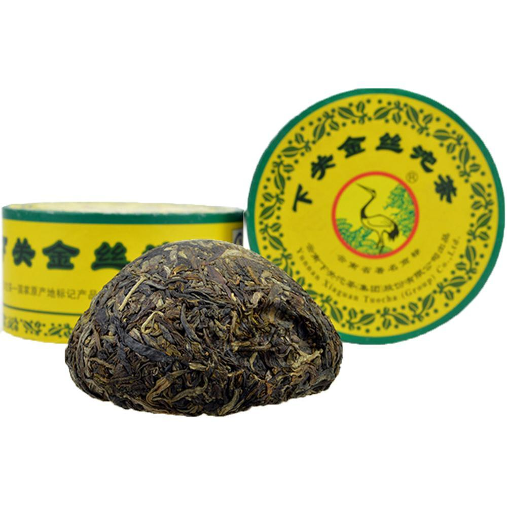 Yunnan XiaGuanTuo Tea Health Year 2011 Gold Box 100g