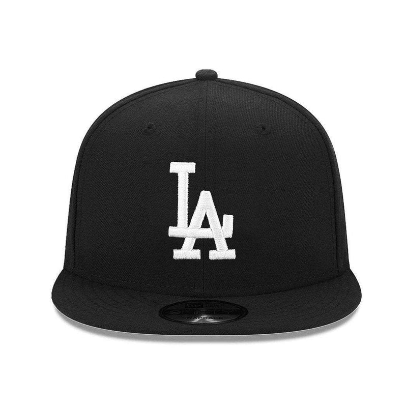 Los Angeles Dodgers New Era MLB Black & White 9FIFTY Snapback Hat