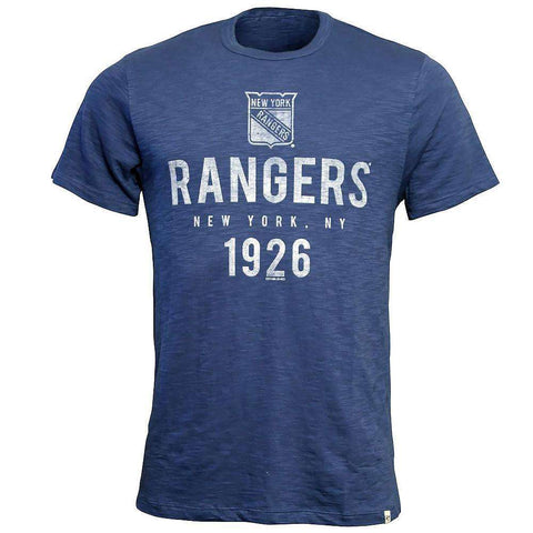 New York Rangers '47 NHL Origin Scrum T-Shirt - Blue