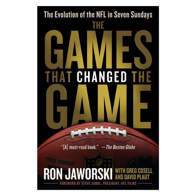 The Games That Changed The Game NFL Paperback Book