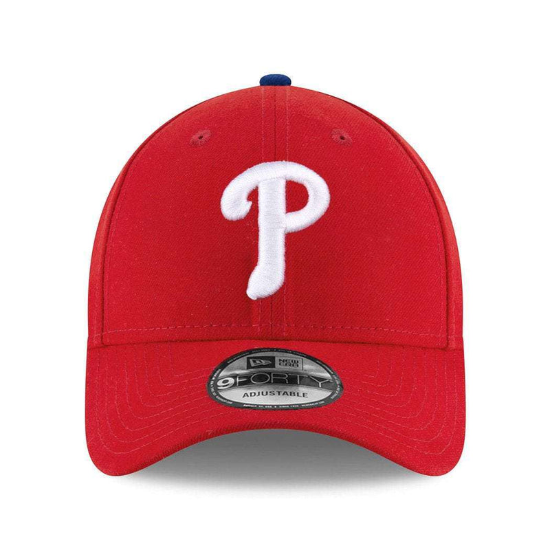 Philadelphia Phillies New Era MLB League 9FORTY Curve Hat - Red