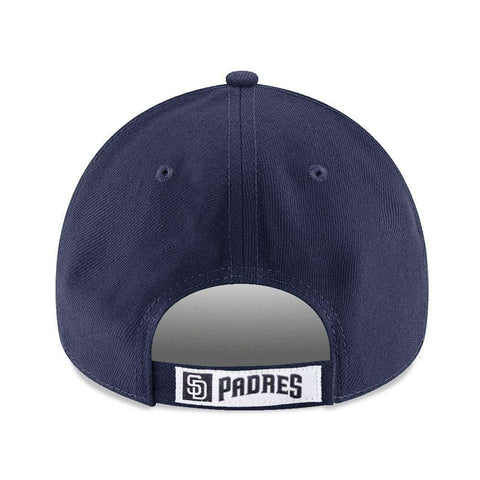 San Diego Padres New Era MLB League 9FORTY Curve Hat - Navy