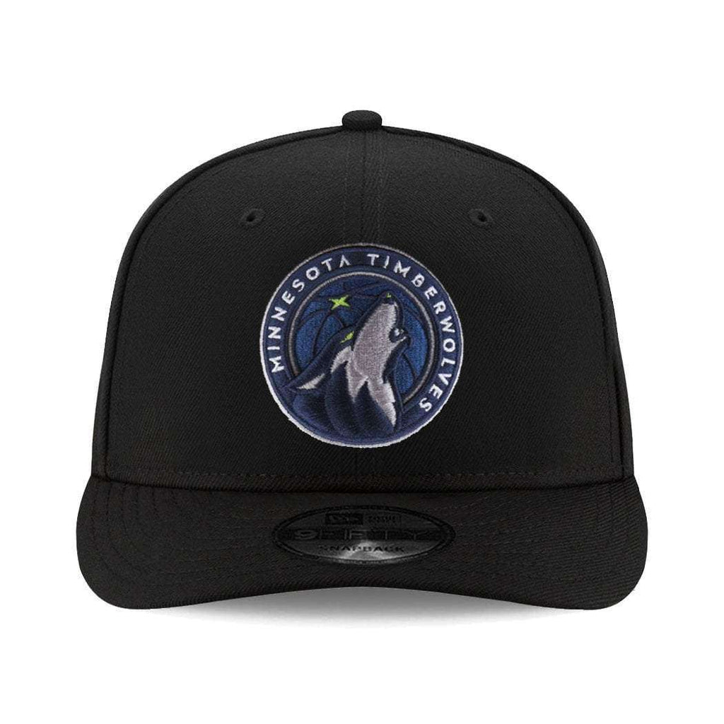 new arrival a6ab3 c376c real minnesota timberwolves new era nba team pre curved 9fifty snapback hat  black 2ded5 bd54f