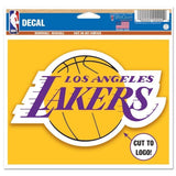 "Los Angeles Lakers Wincraft NBA Multi-Use 4.5"" x 5.75"" Decal"