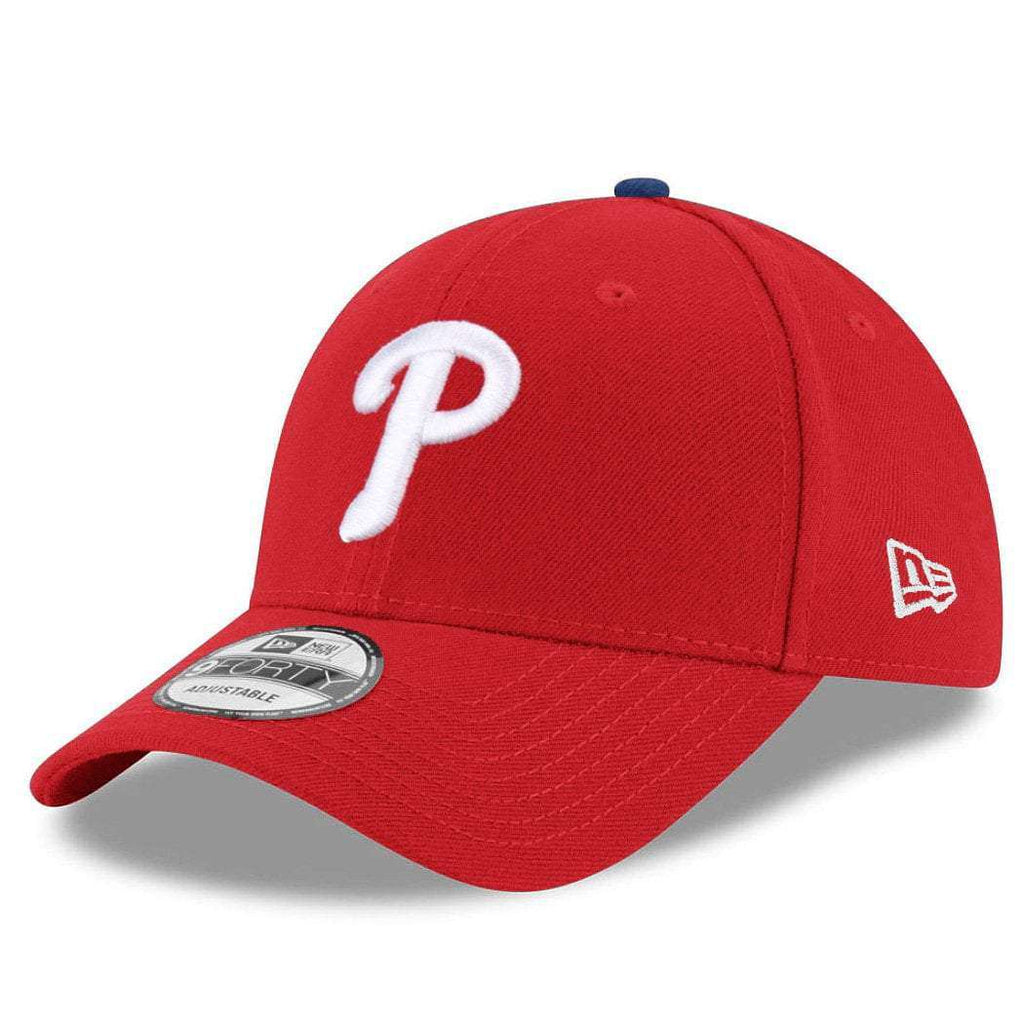 Philadelphia Phillies New Era MLB League 9FORTY Curve Hat - Red  d4b943465f5c