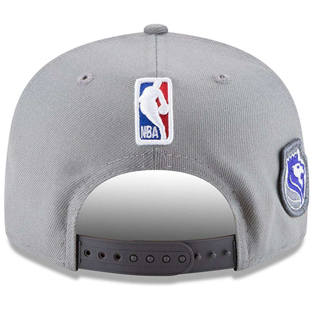 online store d72f9 58628 Sacramento Kings New Era NBA 2018 NBA Draft 9FIFTY Snapback Hat - Grey