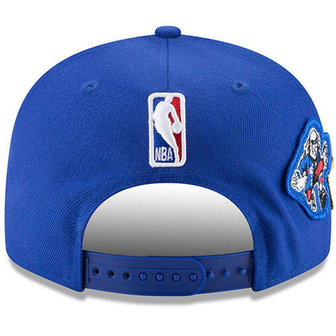 Philadelphia 76ers New Era NBA 2018 NBA Draft 9FIFTY Snapback Hat - Blue