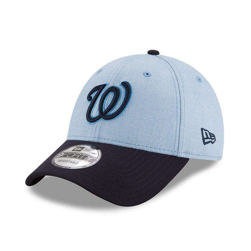 Washington Nationals New Era MLB 2018 Fathers Day 9FORTY Curved Hat - Blue
