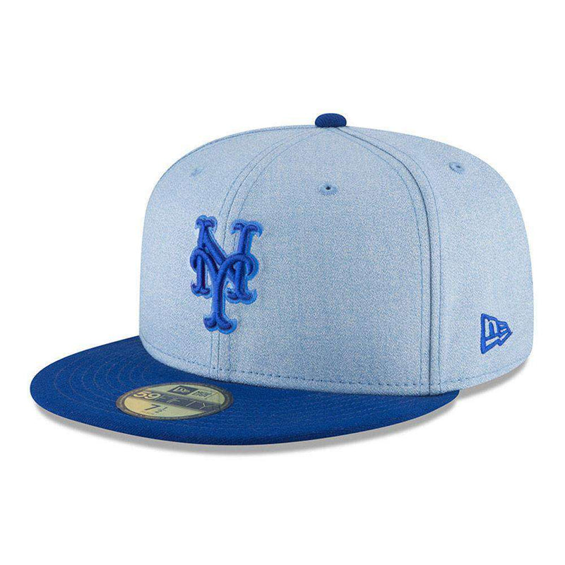 New York Mets New Era MLB 2018 Fathers Day AC On-Field 59FIFTY Fitted Hat - Blue