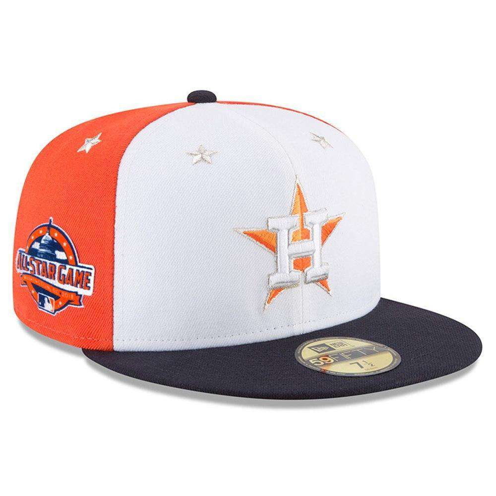 e5e982921ca Houston Astros New Era 2018 MLB All Star AC On-Field 59FIFTY Fitted ...