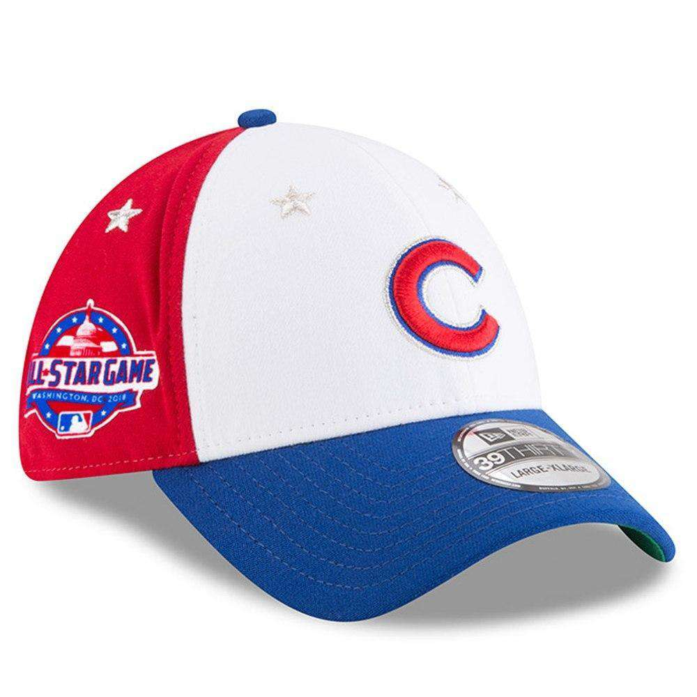 new concept 1c8c3 ad69c Chicago Cubs New Era 2018 MLB All Star 39THIRTY Curved Hat