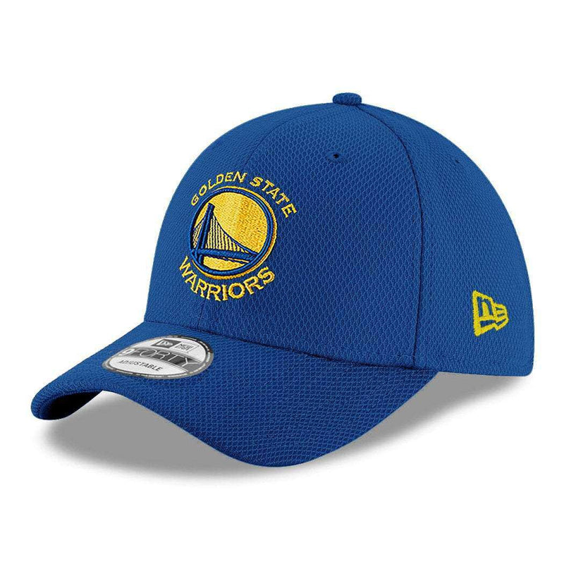 Youths Golden State Warriors New Era NBA Diamond Era 9FORTY Curve Hat - Blue