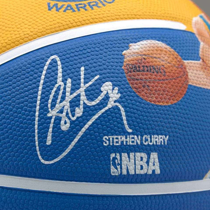 Steph Curry Golden State Warriors Spalding NBA Full Size Player Basketball