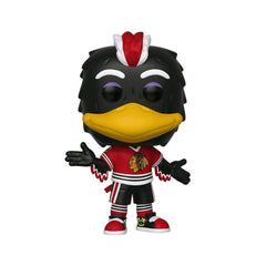 Tommy Hawk Chicago Blackhawks Funko NHL Mascot Pop Vinyl 02 Figure - Red