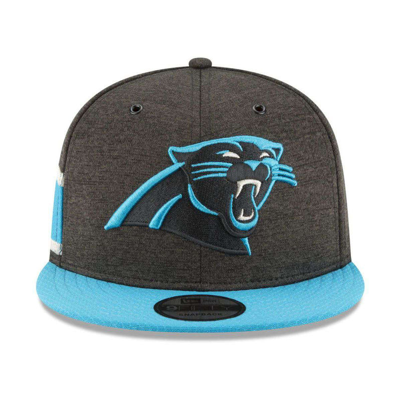 Carolina Panthers New Era NFL 2018 Sideline 9FIFTY Snapback Hat - Black