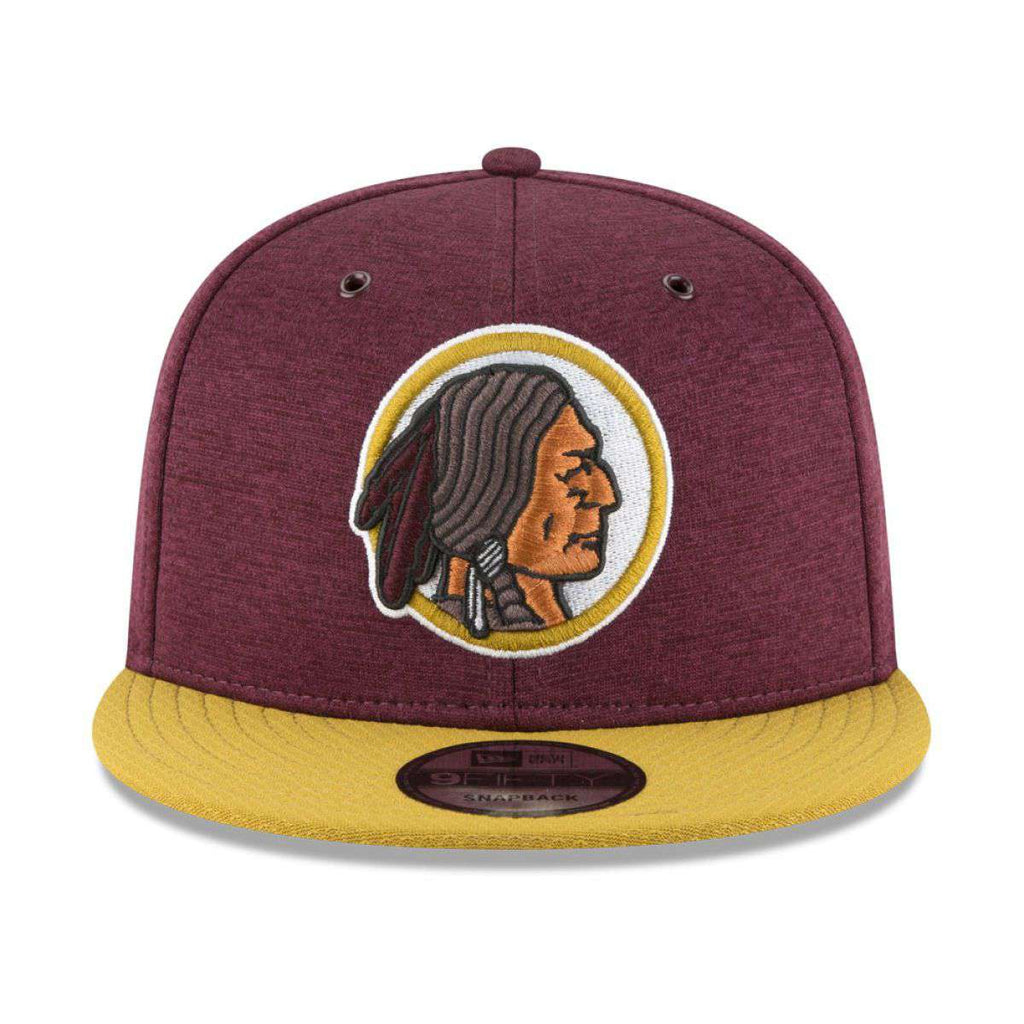 da18aaedf7b092 Washington Redskins New Era NFL 2018 Sideline CC 9FIFTY Snapback Hat -  Burgundy