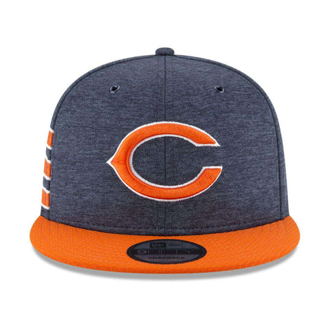 Chicago Bears New Era NFL 2018 Sideline 9FIFTY Snapback Hat - Navy