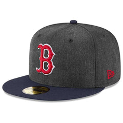 Boston Red Sox New Era MLB Alt Shadow 59FIFTY Fitted Hat - Heather Graphite  ... db66772a68