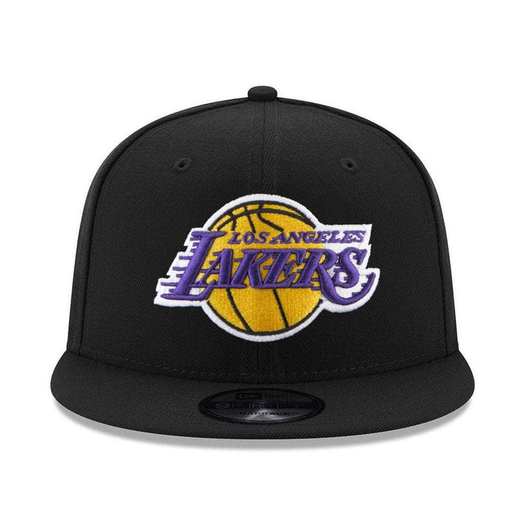 competitive price 10b90 06c18 Los Angeles Lakers New Era NBA Team 9FIFTY Snapback Hat - Black