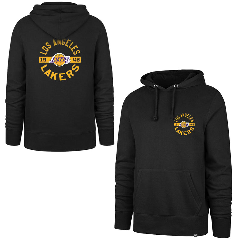 Los Angeles Lakers '47 NBA Backer Headline Hoodie Jumper - Black