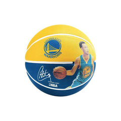 Steph Curry Golden State Warriors Spalding NBA Size 3 Mini Basketball