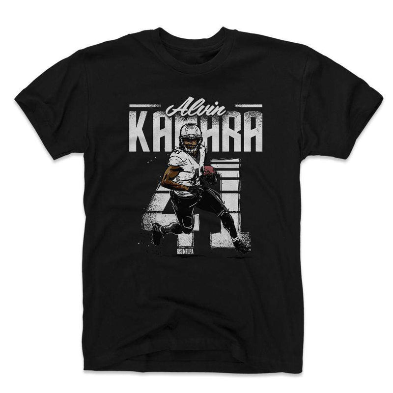 Alvin Kamara New Orleans Saints 500 Level NFL Retro T-Shirt - Black