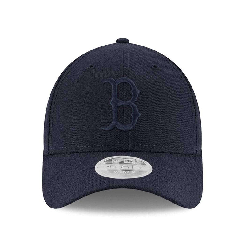 Womens Boston Red Sox New Era MLB Tonal 9FORTY Curve Hat - Navy