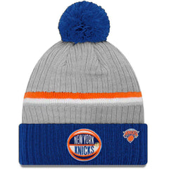 New York Knicks New Era 2019 NBA Draft Knit Beanie - Heather
