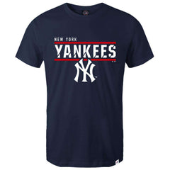 New York Yankees Majestic MLB Team Flex T-Shirt - Navy