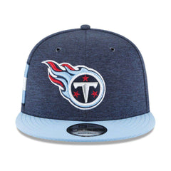 Tennessee Titans New Era NFL 2018 Sideline 9FIFTY Snapback Hat - Navy