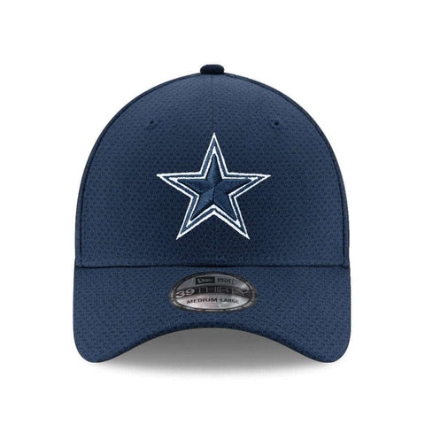 Dallas Cowboys New Era NFL Performance Mesh 39THIRTY Stretch-Fit Curve Hat - Navy