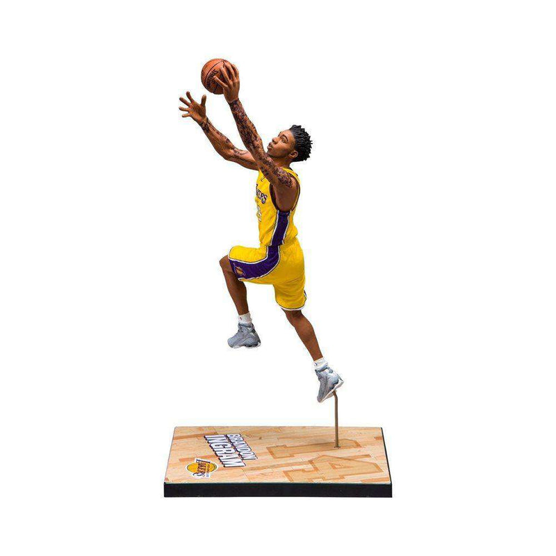 "Brandon Ingram Los Angeles Lakers McFarlane NBA Series 30 7"" Figure - Gold"