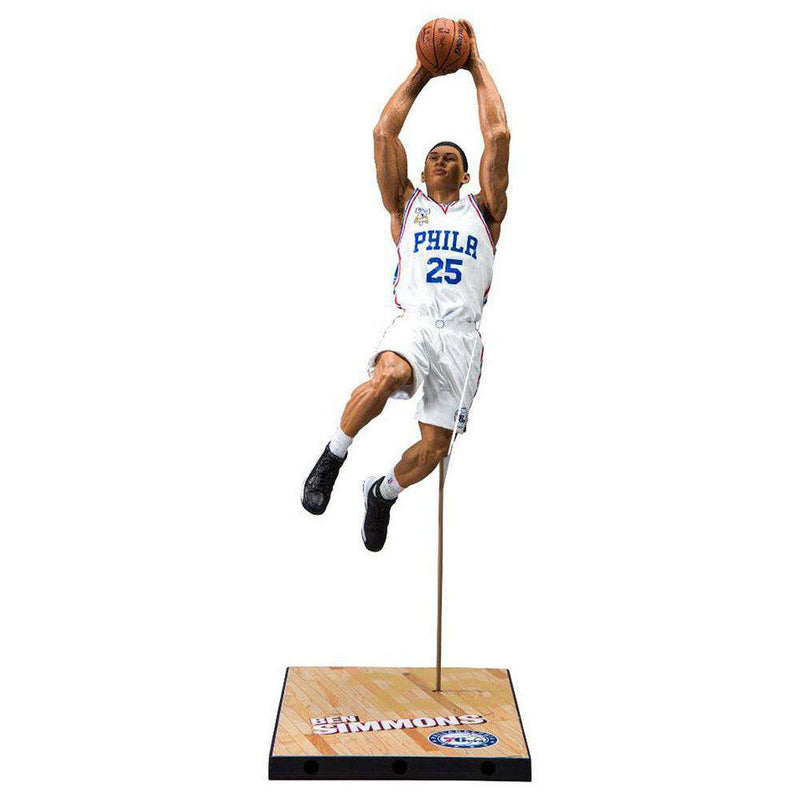 "Ben Simmons Philadelphia 76ers McFarlane NBA Series 30 7"" Figure - White"