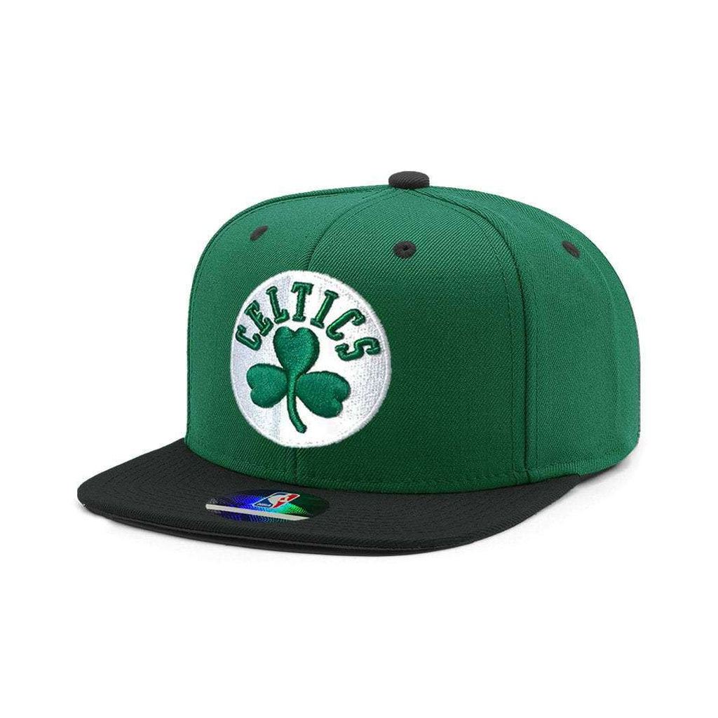 fe4cda43 Kids Boston Celtics Outerstuff 2 Tone NBA Snapback Hat - Green | US ...