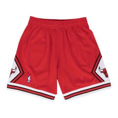 Chicago Bulls Mitchell & Ness NBA HWC Swingman Shorts - Red