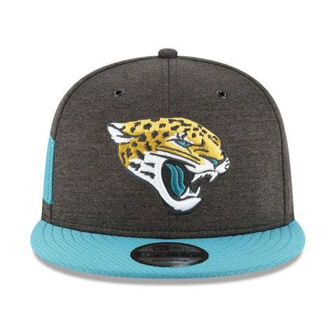 Jacksonville Jaguars New Era NFL 2018 Sideline 9FIFTY Snapback Hat - Black